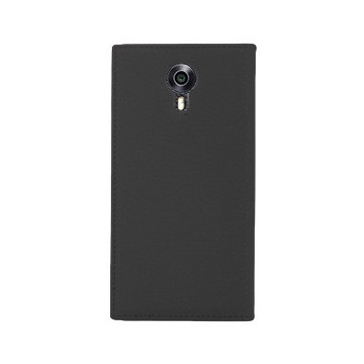 Microsonic General Mobile Android One 4g Kılıf Gizli Mıknatıslı Dual View Delux Siyah Cep Telefonu Kılıfı
