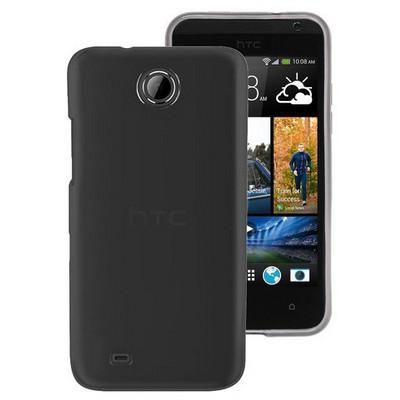 Microsonic Htc Desire 300 Kılıf Transparent Soft Siyah Cep Telefonu Kılıfı