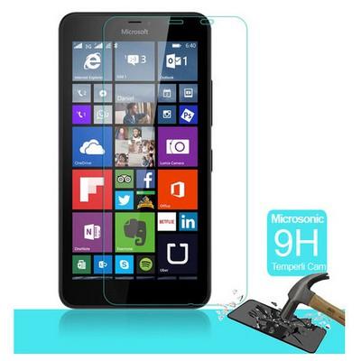 Microsonic Microsoft Lumia 640 Xl Temperli Cam Ekran Koruyucu Kırılmaz Film Ekran Koruyucu Film