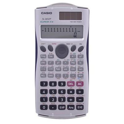 Casio Fx-3650pıı 308 Fonksiyon Progr. Bilimsel Hesap Makinesi