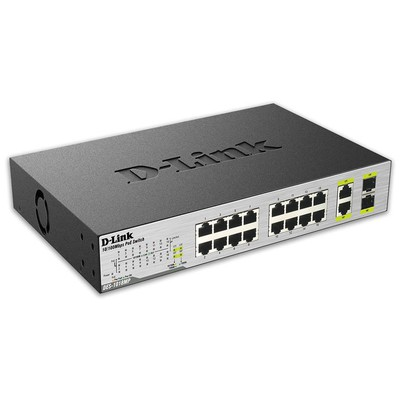 D-link DES-1018MP 18-Port 10/100 Mbps PoE Switch