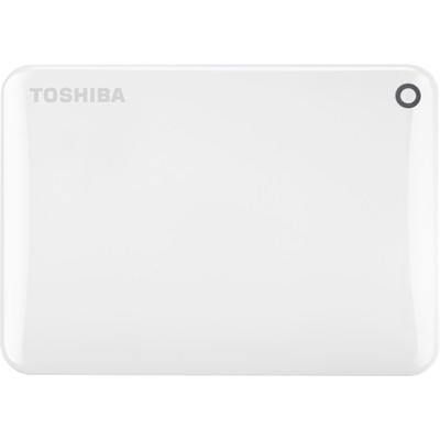 Toshiba 1TB Beyaz HDTC810EW3AA Canvio Connect II Taşınabilir Disk