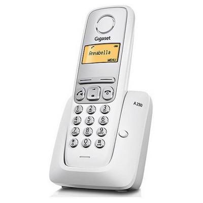 Gigaset A230 Dect Telefon - Beyaz Telsiz Telefon