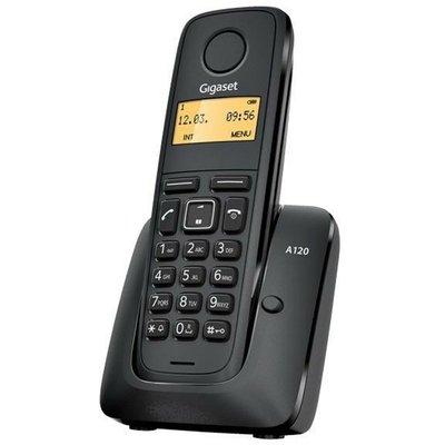 Gigaset A120 Dect Telefon Siyah Telsiz Telefon