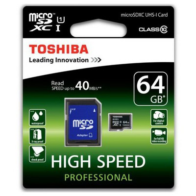 Toshiba 64 Gb Micro Sd Class 10 Sd-c064uhs1(6a Micro SD Kart