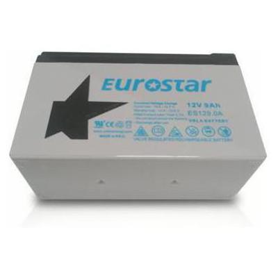 Eurostar 12v 9 Ah Tam Bakımsız Kuru Tip Akü Kesintisiz Güç Kaynağı