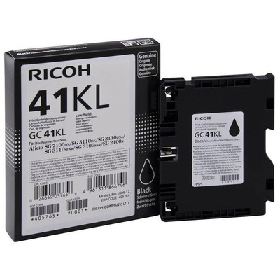 Ricoh 405765 Krt Rıcoh Geljet Black (0.6k) Kartuş