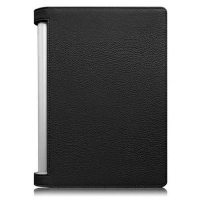 "Microsonic Lenovo Yoga Tablet 2 1050f Tablet 10.1"" Tablet Kickstand Deri Kılıf Siyah Tablet Kılıfı"