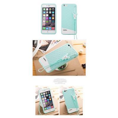 Microsonic Fabitoo Iphone 6 Candy Kılıf Turkuaz Cep Telefonu Kılıfı