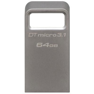 Kingston 64GB DataTraveler Micro 3.1 Flash Bellek (DTMC3/64)