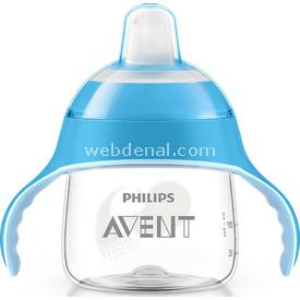 Philips Avent Philips Scf751/05 Penguen Damlatmaz Alıştırma Bardağı 6m 200ml Mavi Bebek Besleme