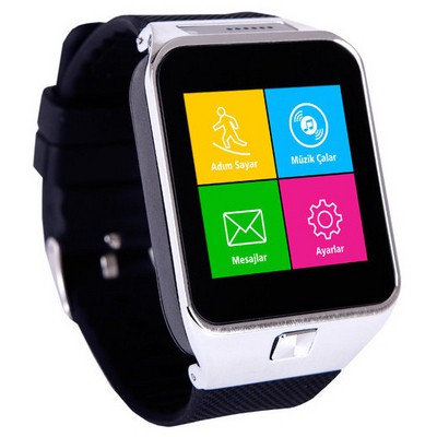 "Quadro Smart Watch S71 1.54"" 450mAH Kameralı Akıllı Saat Siyah Akıllı Elektronik"