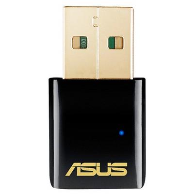 Asus Usb-ac51 Dualband Ac-600 Kablosuz Usb Adaptör Anten / Ağ Adaptörü