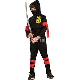 Rubies Ninja Çocuk Kostüm Klasik 4-6 Yaş Kostüm & Aksesuar