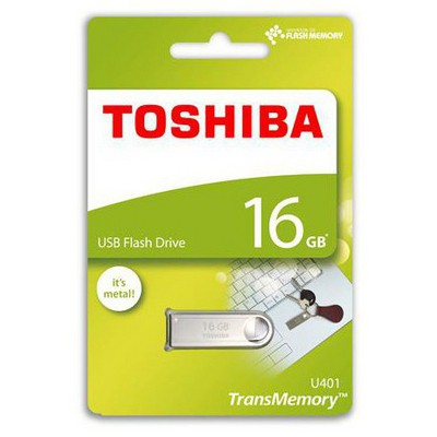 Toshiba Thn-u401s0160e4 16gb Usb 2.0 Metal Owahrı USB Bellek