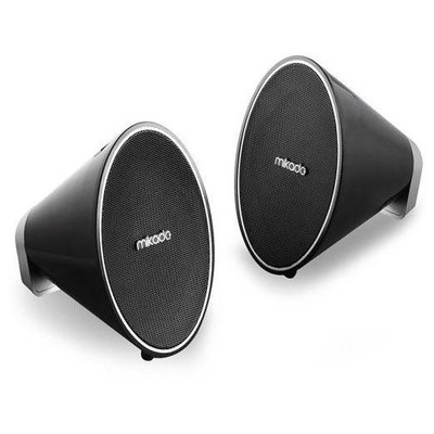 Mikado MD-153 2.0 Speaker - Siyah