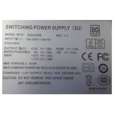 TGC -sg2u600 2u 600w Power Sunucu Aksesuarları