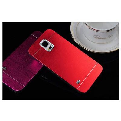 Microsonic Samsung Galaxy S5 Kılıf Hybrid Metal Kırmızı Cep Telefonu Kılıfı