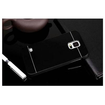 Microsonic Samsung Galaxy S5 Kılıf Hybrid Metal Siyah Cep Telefonu Kılıfı