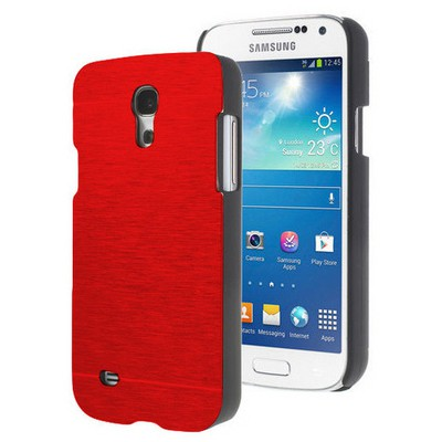 Microsonic Samsung Galaxy S4 Mini Kılıf Hybrid Metal Kırmızı Cep Telefonu Kılıfı