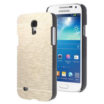 Microsonic Samsung Galaxy S4 Mini Kılıf Hybrid Metal Gold Cep Telefonu Kılıfı