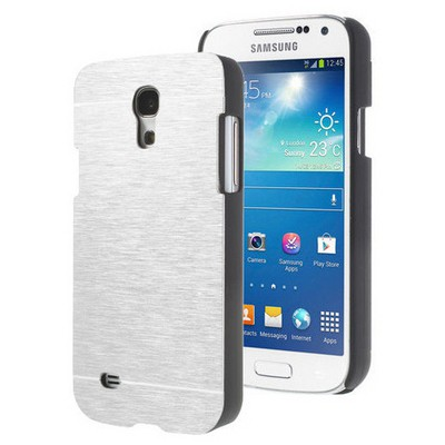 Microsonic Samsung Galaxy S4 Mini Kılıf Hybrid Metal Gümüş Cep Telefonu Kılıfı