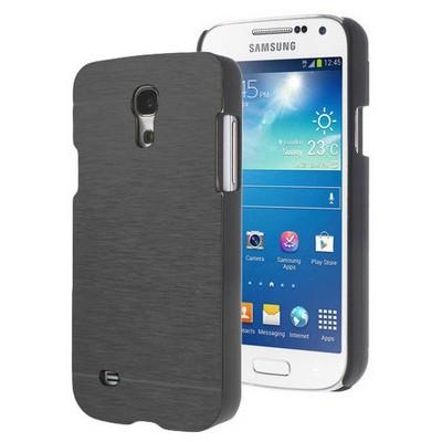 Microsonic Samsung Galaxy S4 Mini Kılıf Hybrid Metal Siyah Cep Telefonu Kılıfı