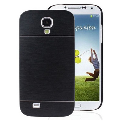 Microsonic Samsung Galaxy S4 Kılıf Hybrid Metal Siyah Cep Telefonu Kılıfı
