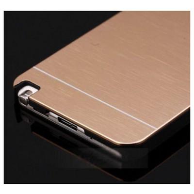 Microsonic Samsung Galaxy Note 3 Kılıf Hybrid Metal Gold Cep Telefonu Kılıfı