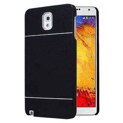 Microsonic Samsung Galaxy Note 3 Kılıf Hybrid Metal Siyah Cep Telefonu Kılıfı