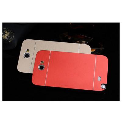 Microsonic Samsung Galaxy Note 2 Kılıf Hybrid Metal Kırmızı Cep Telefonu Kılıfı