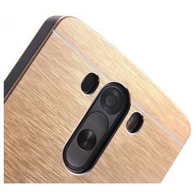 Microsonic Lg G3 Kılıf Hybrid Metal Gold Cep Telefonu Kılıfı