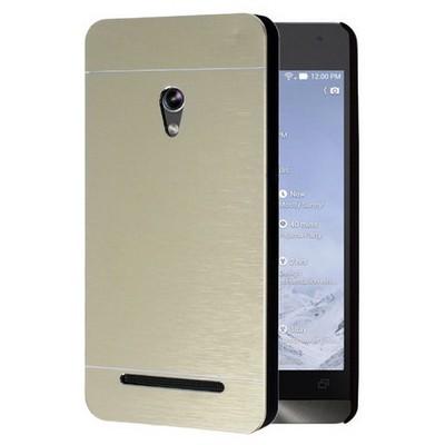 Microsonic Asus Zenfone 5 Kılıf Hybrid Metal Gold Cep Telefonu Kılıfı
