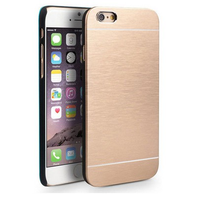 Microsonic Iphone 6 Plus Kılıf Hybrid Metal Gold Cep Telefonu Kılıfı