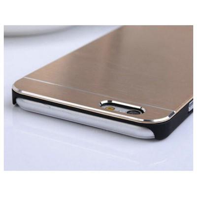 Microsonic Iphone 6 Kılıf Hybrid Metal Gold Cep Telefonu Kılıfı