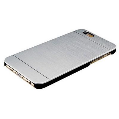 Microsonic Iphone 6 Kılıf Hybrid Metal Gümüş Cep Telefonu Kılıfı