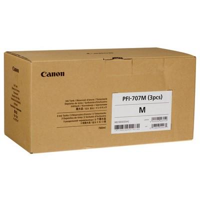 Canon PFI-707M Kırmızı 3'lü Mürekkep Kartuş