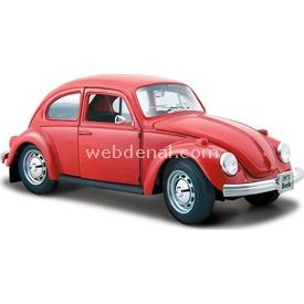 Maisto Volkswagen Beetle 1:24 Model Araba S/e Kırmızı Arabalar