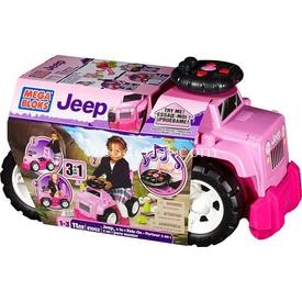 Mega Bloks Jeep 3 In 1 Bingit Araba Kız Bahçe Oyuncakları