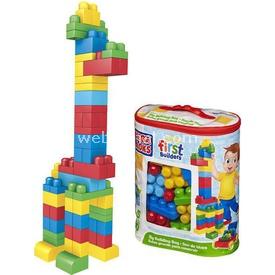 Mega Bloks Çantalı Renkli Bloklar 60 Parça 8415 Lego Oyuncakları
