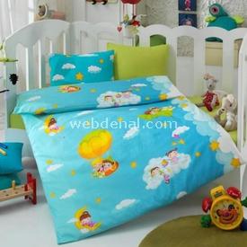 Cotton Box Coton Box 2000 Bebek Nevresim Takımı 100x150 Mavi-rüya Nevresim / Pike Takımı
