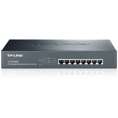 Tp-link TL-SG1008PE 8-Port Gigabit Desktop/Rackmount Switch