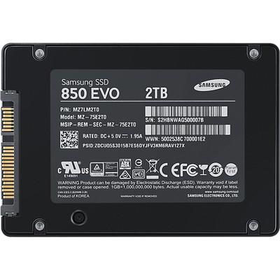 Samsung 2tb 850 Evo SSD - MZ-75E2T0BW