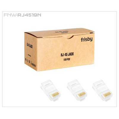 Frisby Utp Cat6 Rj45 Konnektör (100'lü Paket) Ağ / Modem Aksesuarı