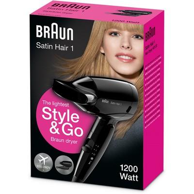 Braun Satin Hair 1 Style&Go Saç Kurutucu (HD130)
