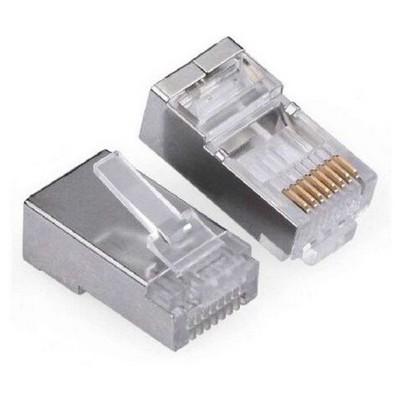 Flaxes Fkn-025mp Rj45 Metal Konnektör 25 Li Paket Network Kablosu