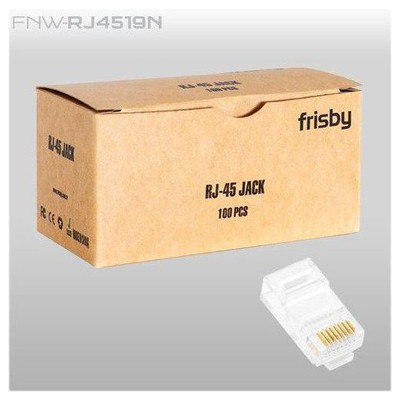 Frisby FNW-RJ4519N RJ45 100lü Paket UTP Konnektör Network Kablosu