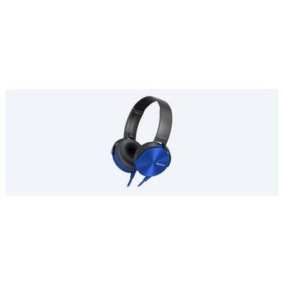 Sony  Mikrofonlu Kulaküstü Kulaklık Mdrx450apl Mavi