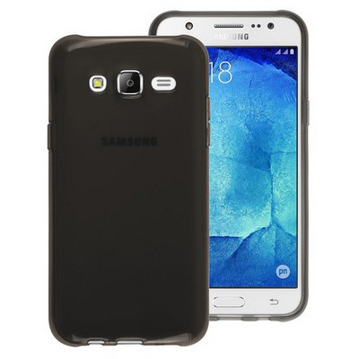 Microsonic Samsung Galaxy J5 Kılıf Transparent Soft Siyah Cep Telefonu Kılıfı