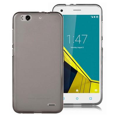 Microsonic Vodafone Smart 6 Kılıf Transparent Soft Siyah Cep Telefonu Kılıfı